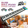 More images of C47D Sound Spectrum Sticker Roll Up Piano 49 Key Keyboard Instruments Cartoon
