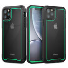 For iPhone 11 Pro Max X XR 8 7 Plus Protective Shockproof Clear Hard Case Cover