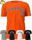 Houston Astros Justin Verlander 35 Jersey Tee T Shirt Men Size S-5XL on Ebay
