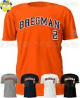 Houston Astros Alex Bregman 2 Jersey Tee T Shirt Men Size S-5XL on Ebay