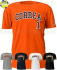Houston Astros Carlos Correa 1 Jersey Tee T Shirt Men Size S-5XL on Ebay