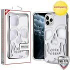 Apple iPhone 11 /Pro /Max Case Cover Skull Hybrid Shock Protective Rubber Rugged