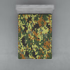 Camo Fitted Sheet Cover with All-Round Elastic Pocket in 4 Sizes