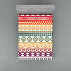 Aztec Fitted Sheet Cover with All-Round Elastic Pocket in 4 Sizes image