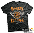 Official American Chopper Orange County Choppers OCC Two Wheels T Shirt