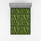 Sage Fitted Sheet Cover with All-Round Elastic Pocket in 4 Sizes