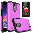 For LG Phoenix 4/Rebel 4/Fortune 2/Zone 4 Case Shockproof With Screen Protector