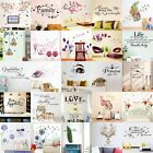 Quote Wall Stickers Vinyl Art Home Room Diy Decal Home Decor Removable Muralsr