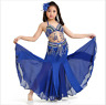 2019 Kid's Girls Professional Belly Dance Costumes Performance Stage Show Dress