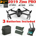 Hubsan Zino PRO Combo DRONE 4.5KM FPV Quadcopter--4K Camera 3Gimbal+3Battery+Bag