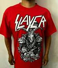 SLAYER WARRIOR PUNK ROCK RED T SHIRT image