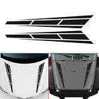 "Racing Stripes Vinyl Graphics Decal Hood Sticker Car Front Sticker  4.5""*31.5"" $4.47 CAD on eBay"