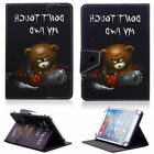 "For 9.7"" -10.1""inch Tablets Chainsaw Bear Leather Case Cover Wireless Keyboard"
