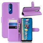 Case Cover Leather PU Leather XXL Colours Case Cover Skin Alcatel 3 (2019)