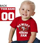 San Francisco 49ers shirt t-shirt tee Baby jersey Newest personalized customized