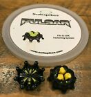 Black Yellow Softspikes Pulsar Q Lok Q Fit Insert System Golf Shoe Cleats Spikes