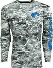 Costa Mossy Oak Elements Performance Fishing Shirt - Gray- Pick Size-Free Ship