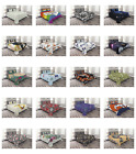 Bedspread with Pillow Shams for Bed Coverlet Set Quilted Decorative by Ambesonne image
