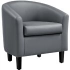 Accent Arm Chair Barrel Tub Chair Contemporary Style For Living Room Bedroom