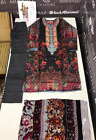 Winter Khaddar  Embroidered stitched pakistani indian suit velvet palachi shawl