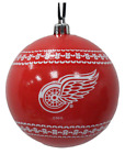 Detroit Red Wings Ugly Sweater Print Ball Christmas Tree Ornament NHL hockey $14.99 USD on eBay