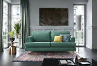 Harper 2,3 Seater Sofa, Cuddle & Armchair in Forest Green Water Repellent Fabric
