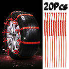 20 Pcs Snow Tire Chain Car Anti-Skid Emergency Winter Driving Spikes Car Tires