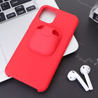 1PC 2-in-1 Durable Phone Shell Earbud Case Compatible for Air Pods iPhone 11 Pro