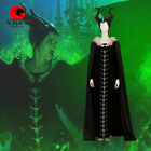 Sleeping Beauty Maleficent Cosplay Costumes Witch Dress Clothing Women Halloween