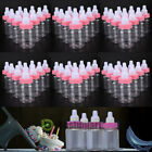 24/48pcs/set Fillable Bottles for Baby Shower Favors Party Decorations Girl Boy