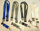 Plain Solid Color Lanyard with Safety Breakaway & Detachable Key Chain