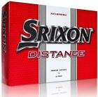 Srixon Distance 2-Piece Golf Balls White New Boxed 2 Dozen
