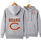 2019 Chicago Bears Hoodie Fleece Football Hooded Sweatshirt Team Jacket Gift $30.5 CAD on eBay