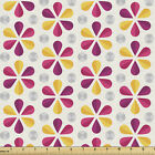 Ambesonne Fabric by The Yard Decorative Polyester and Fabric for Home Accent