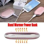 Pocket Reusable Hand Warmer USB Rechargeable Electric Heater Portable Power Bank