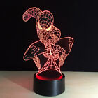 Gifts 3D Lights Night Spider-Man LED Table Lamp Remote Control 7 Colors Changing