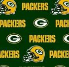 Green Bay Packers Fabric by the Yard or Half Yard, NFL Licensed Cotton Fabric $9.95 USD on eBay