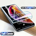 Hydrogel Silicone Screen Protector Sticker Film for IPhone 12 XS Max 11 Pro Max