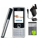 New Nokia Brand 6300 Unlocked Camera Bluetooth Mobile Phone Black Silver XMAS UK