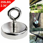 68/120KG Salvage Recovery Magnet Hook Strong Sea Fishing Diving Treasure Hunting