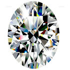CLEAR CUBIC ZIRCONIA LOOSE STONES SUPER QUALITY OVAL SHAPE 7 A CLEAR U.S SHIPPER