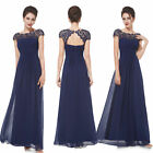US Women's Lace Formal Cocktail Evening Party Bridesmaids Wedding Dresses 09993