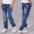 IENENS Fashion Kids Boys Jeans Trousers Clothes Children Boy Denim Long Pants