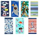 Kaufman-Personalized Kids Beach Towels 100% Cotton, 30'' x 60