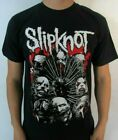 SLIPKNOT FACES METAL ROCK MEN's T SHIRT SIZES image