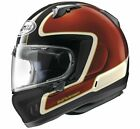 New Arai Defiant-X Outline Red Full Face Motorcycle Helmet XS-2X