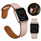 For Applr Watch Series 5 4 3 2 1 Genuine Leather Band Strap iWatch 38/42/40/44mm