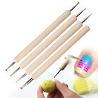 Pack of 4 Ball Stylus Polymer Clay Pottery Ceramics Sculpting Modeling Tools image