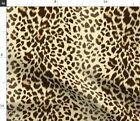 Leopard Animal Print Cheetah Wild Fabric Printed by Spoonflower BTY