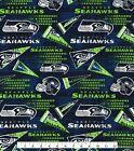 Seattle Seahawks Fabric by the Yard or Half Yard, NFL Cotton Fabric, Retro $5.25 USD on eBay
